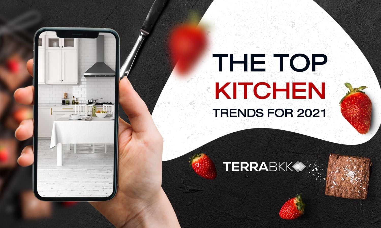 ตามติดสุดยอดเทรนด์ ตกแต่งภายในห้องครัว ปี 2021