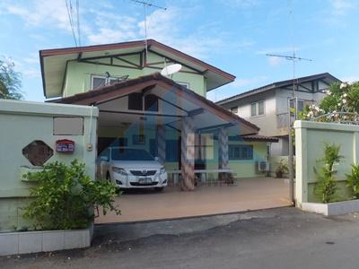 บ้านเดี่ยว 2 ชั้น 54 ตรว. 4 นอน 2 น้ำ ปรับปรุงใหม่ พร้อมอยู่ ทำเลดี ซ.รามอินทรา 34 (อยู่เย็น) ถ.ประดิษฐ์มนูธรรม  4,350,000 บาท