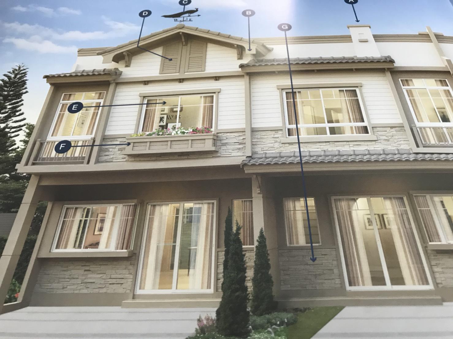 ขายใบจอง โครงการ Indy srinakarin 2  Townhouse  3