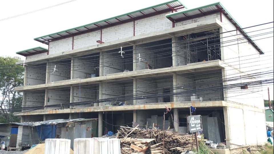 ขายตึกพาณิชย์ 3 ชั้น ติดถนนสุวรรณศร หนองแค สระบุรี