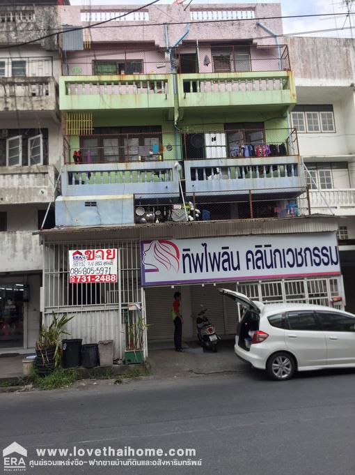 ภาพขายด่วนตึกแถวหมู่บ้านบัวทอง นนทบุรี พื้นที่34ตรว.