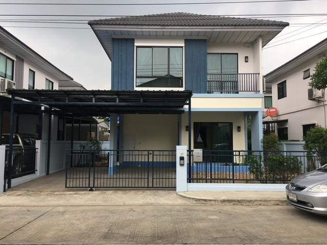 ขายบ้าน สวยถูก 3.9ล. ม.เดอะวิลล่า ท่าอิฐ นนทบุรี