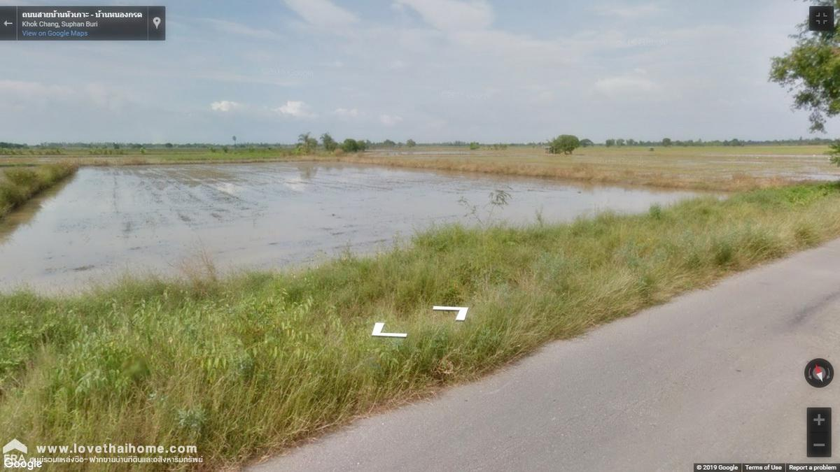 ภาพขายที่ดินจังหวัดสุพรรณบุรี พื้นที่57-3-80ไร่