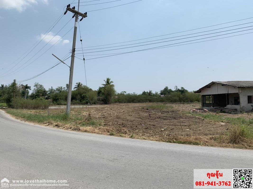 ภาพขายที่ดินถนนมาลัยแมน โซนกำแพงแสนนครปฐม 1-1-24ไร่