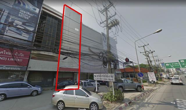 ภาพขายอาคารพาณิชย์ ติดถนนมหิดล ช้างคลาน เชียงใหม่
