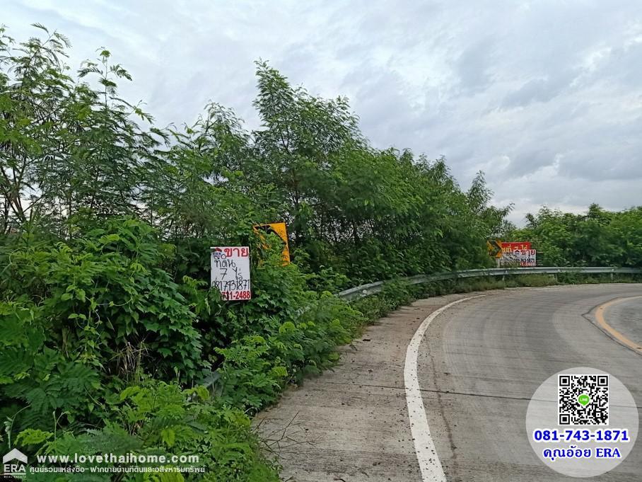 ภาพขายที่ดินคลองโยง ติดถนนทางหลวงชนบทนนทบุรี3102 ตรงข้ามหมู่บ้านเดอะนารียา ใกล้ม.มหิดล ศาลายา