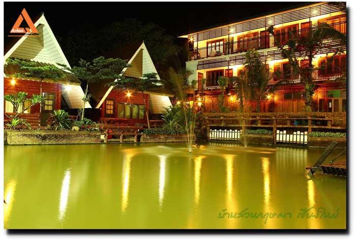 ขายหรือให้เช่า โรงแรมกึ่งรีสอร์ท บ้านสวนกฤษณา กาดฝรั่ง หางดง เชียงใหม่