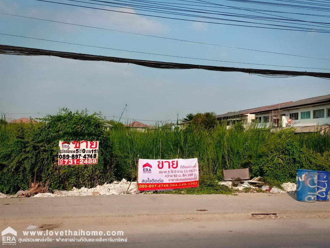 ภาพขายที่ดินเปล่าถนนบางกรวย-ไทรน้อย นนทบุรี พื้นที่5-0-11ไร่ ขายตารางวาละ32,000บาท อยู่เยื้องหมู่บ้านมิตรประชาวิลล่า ที่ดินอยู่ซ้ายมือใกล้ปั้ม