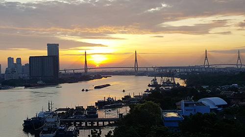 ภาพขายคอนโด แชปเตอร์วัน โมเดิร์นดัชต์ วิวแม่น้ำเจ้าพระยา ชั้น 11 ราษฎร์บูรณะ 33 ใกล้สะพานภูมิพล ธนาคารกสิกรไทย สนญ. กรุงเทพ