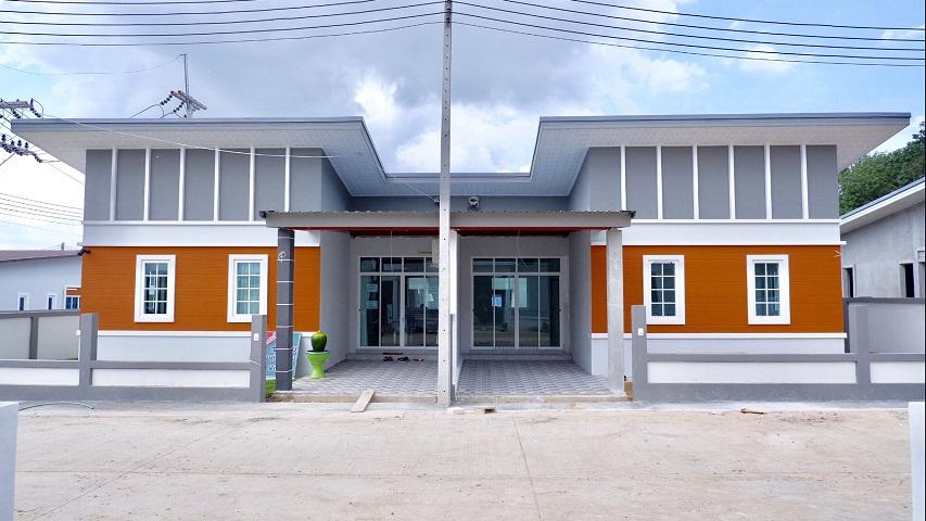 ภาพขายบ้าน ใหม่ ราคาพิเศษ สู้ภัยโควิด โครงการ N2P VILLAGE ปลวกแดง-คลองกร่ำ จ.ระยอง