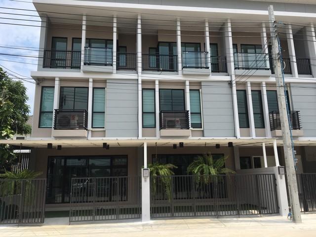 ภาพขาย และ ให้เช่า บ้าน+โฮมออฟฟิศหลังใหม่ 2 หลังติดกัน หมู่บ้านไทม์โฮม วงแหวนกาญจนา 280  ตร.ม.