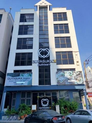 ภาพให้เช่าอาคาร 6 ชั้น พื้นที่ 864  ตร.ม. ถนนรัชดาภิเษก ใกล้ MRT สุทธิสาร