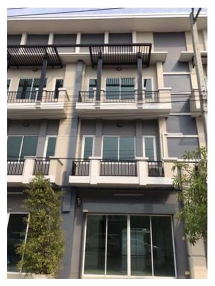 RSH215 ให้เช่าโฮมออฟฟิศ 3 ชั้น  23.6 ตารางวา 3 ห้องนอน ถนนหทัยราษฎร์  22000 บาท