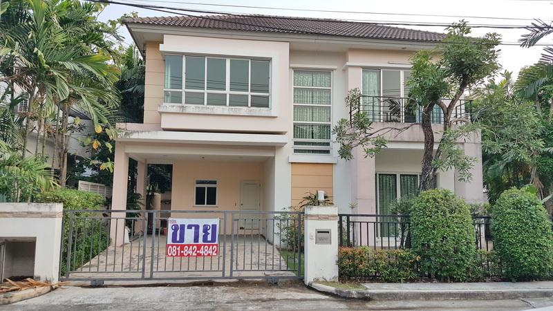 ภาพขายบ้านเดี่ยว Life Bangkok Boulevard ปิ่นเกล้า-เพชรเกษม สาย4 สภาพใหม่มือหนึ่ง