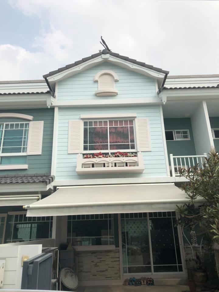 ให้เช่าทาวน์เฮาส์ 2 ชั้น หมู่บ้านอินดี้ 2 ใกล้ Mega Bang Na