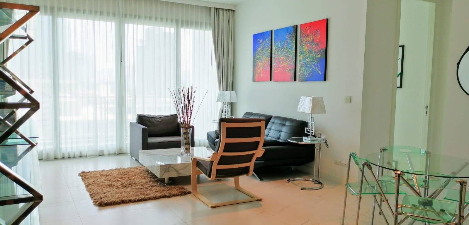 {FOR SALE AT 39.9MB/FOR RENT 90K} 185 Rajadamri - Beautifully Furnished 2 Bedrooms / 110 Sqm / Ready To Move In