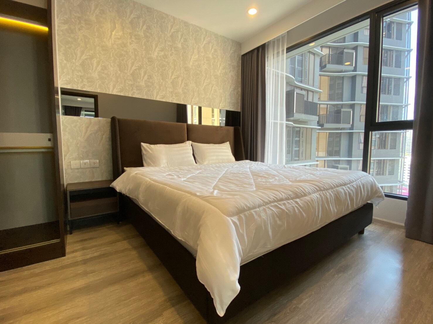 คอนโดให้เช่า ไอดีโอ โมบิ อโศก   เพชรบุรีตัดใหม่  บางกะปิ ห้วยขวาง 2 ห้องนอน พร้อมอยู่ ราคาถูก