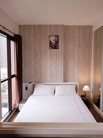 คอนโดให้เช่า วายน์ สุขุมวิท  สุขุมวิท  พระโขนง คลองเตย 1 ห้องนอน พร้อมอยู่ ราคาถูก