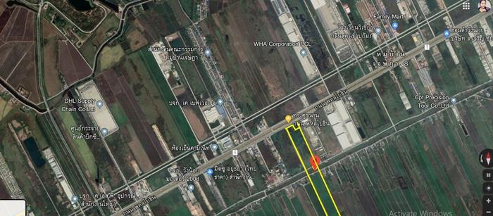 ภาพขายที่ดิน อยุธยาวังน้อย ติดถนนใหญ่ 125 ไร่ ทำเลดี ติดถนน พหลโยธินขาเข้า ใกล้ สะพาน ยูเทิร์น ที่สวย