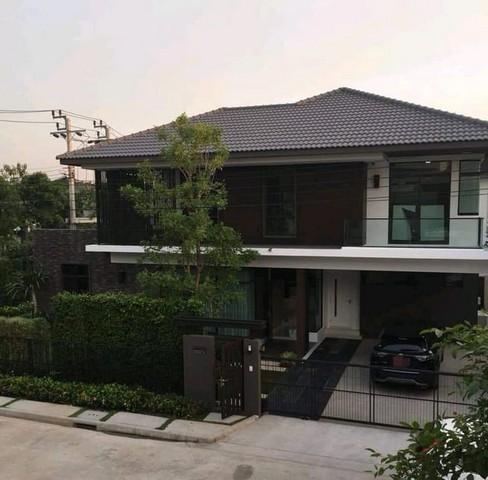 PS01 ขายและให้เช่า บ้านเดี่ยว 2ชั้น โครงการมัณฑนาเลค วัชรพล ถนนสุขาภิบาล5 หลังมุม ตกแต่งสวยเฟอร์ครบเหมาะอยู่อาศัย