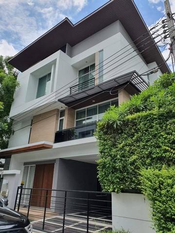 ภาพRH269ให้เช่าบ้านเดี่ยว modern 3 ชั้น หมู่บ้าน Nivana Beyond lite ใกล้ Airport link บ้านทับช้าง