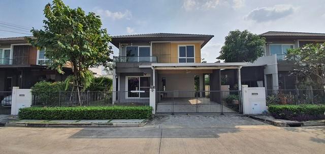 RH276 ให้เช่าและขายบ้านเดี่ยว หมู่บ้านมัณฑนา เลควัชพล ถนนสุขาภิบาล 5 สายไหม