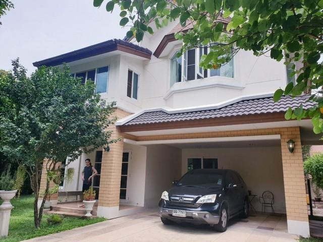 ขายด่วน บ้านเดี่ยวลัดดารมย์ วัชรพล สุขาภิบาล5