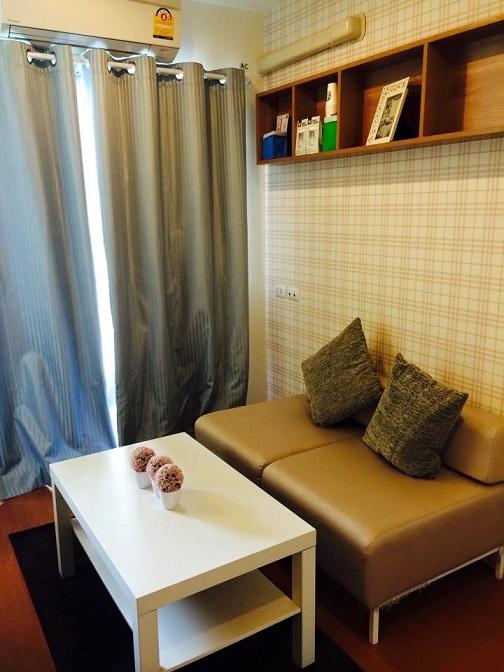 ภาพคอนโดต้องการขาย  พร้อมสัญญาเช่า  ลุมพินี เมกะซิตี้ บางนา  บางแก้ว บางพลี 1 ห้องนอน พร้อมอยู่ ราคาถูก