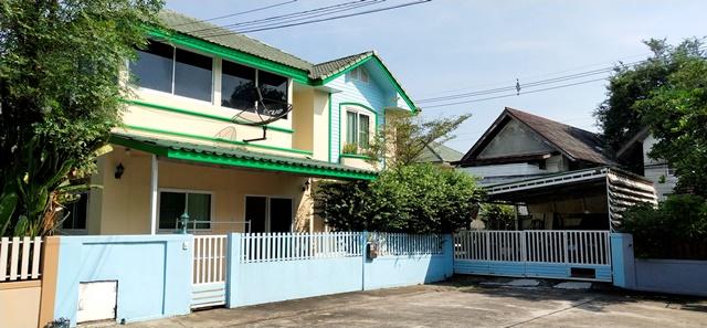 ขาย บ้านเดี่ยว ถนนประเสริฐมนูกิจ หมู่บ้านบ้านสวนนวมินทร์ 42 หลังริม 72. 3 ตารางวา 3 ห้องนอน 4 ห้องน้ำ พร้อมห้องทำงานและห้องแม่บ้าน บึงกุ่ม กรุงเทพฯ