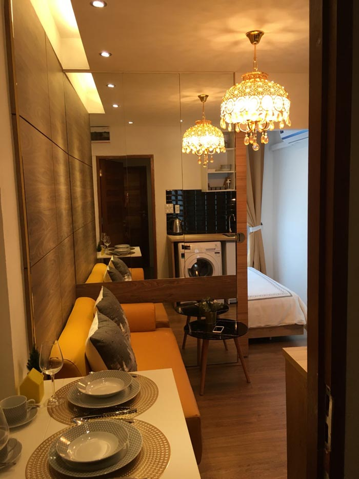 Rent 1 year get free 1 month fully furnished Service apartment  Central Westgate MRTรถไฟฟ้าสายสีม่วง