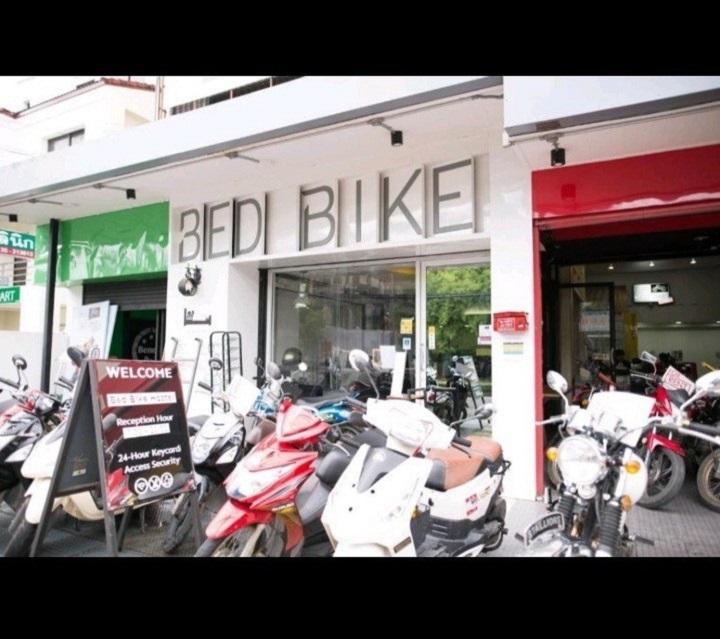เซ้ง!! กิจการโฮสเทลในตัวเมืองเชียงใหม่  bed bike Hostel