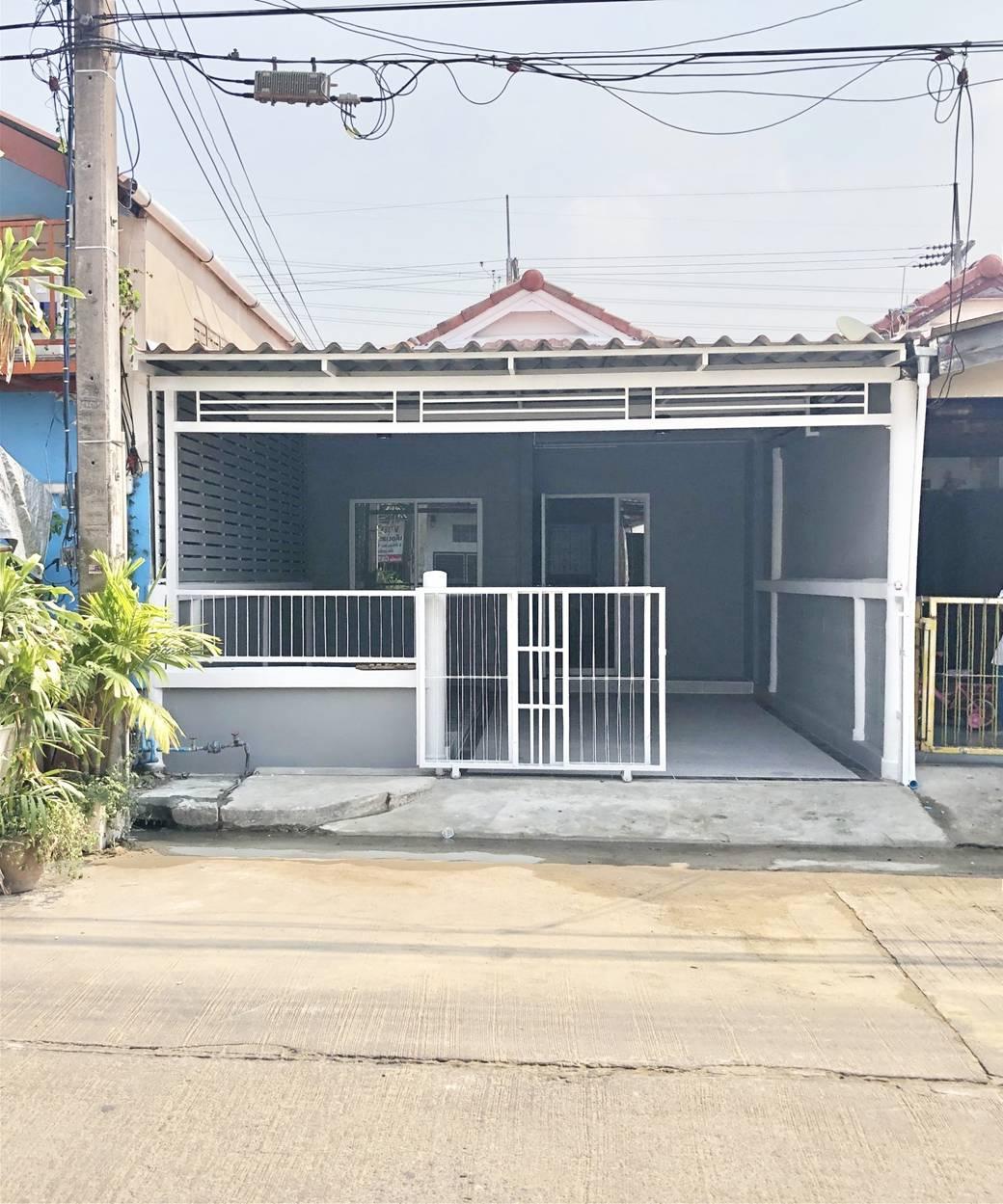 RK17บ้านหลังใหม่ปรับปรุง ต่อเติมใหม่ทั้งหลัง ม.ธราดล ตรงข้ามโลตัสคลอง 7