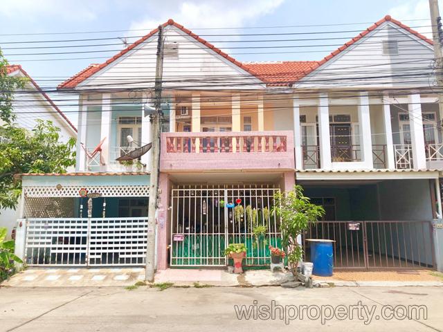 ขายทาวน์เฮ้าส์ 2 ชั้น หมู่บ้านไทยสมบูรณ์2 ถนนเลียบคลองสาม