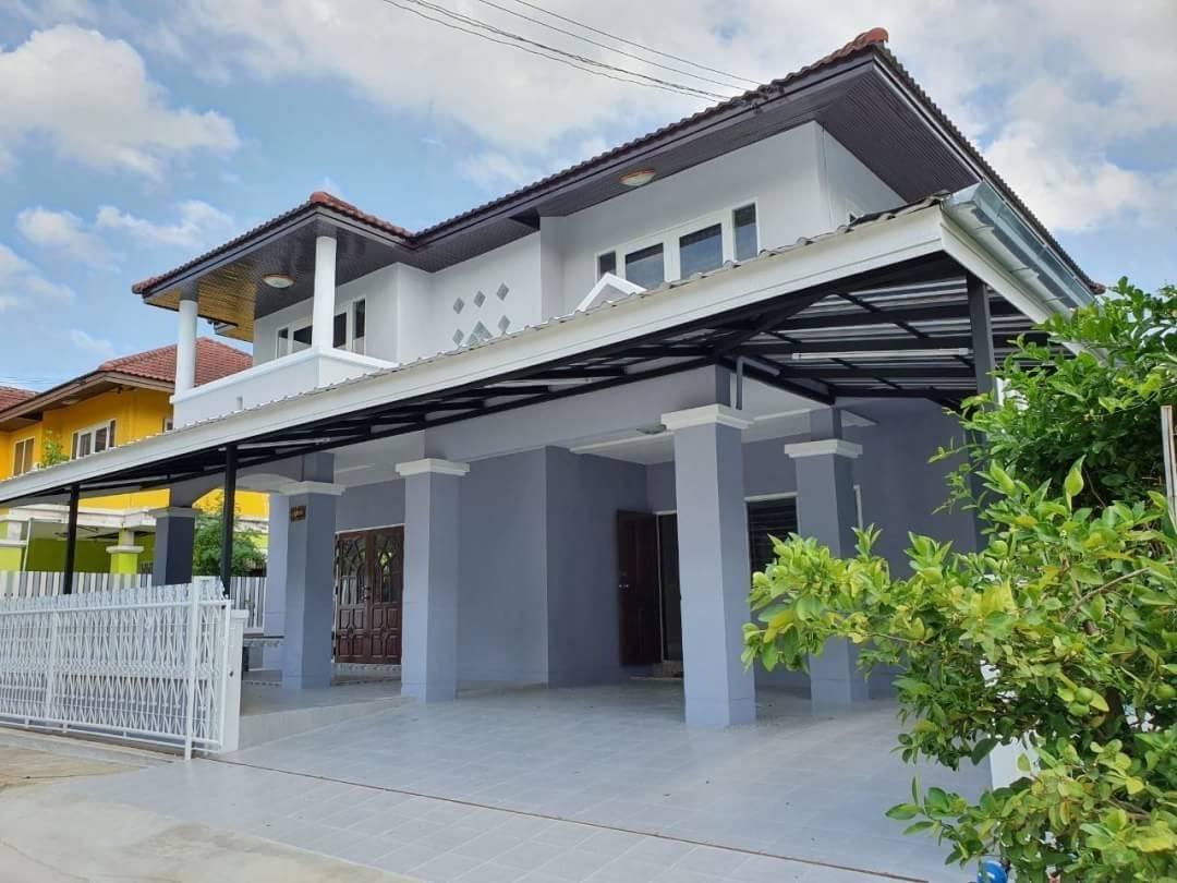 RK13หลุดจอง ขายอีกครั้ง หมู่บ้านฟ้าทอฝัน 52ตรว. บ้านเดี่ยวตกแต่งใหม่พร้อมเข้าอยู่