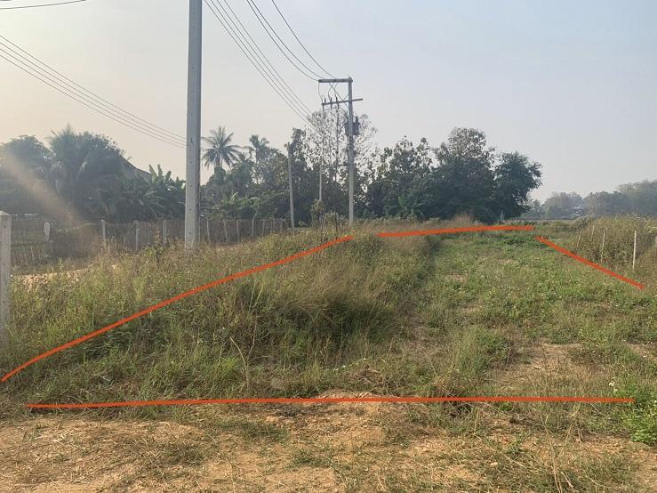 ภาพขายที่ดินจัดสรร 2 แปลง แปลงละ 121 ตารางวา (พร้อมโอน)