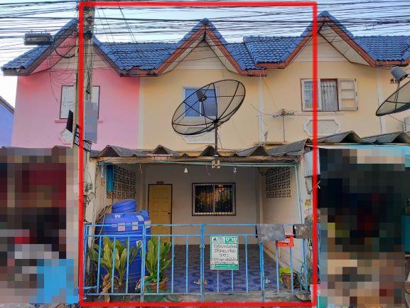ภาพขายบ้านทาวน์เฮ้าส์หมู่บ้านสาธิต บ่อวิน-ปากร่วม