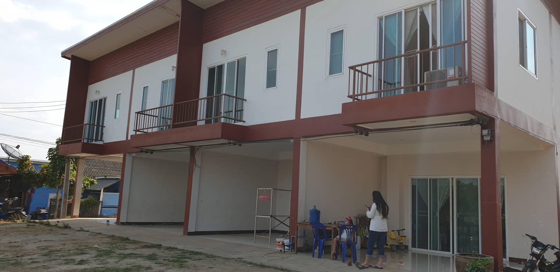 ขายอาคารพาณิชย์ ปากช่องเขาใหญ่ พร้อมอยู่อาศัย 2 ชั้น