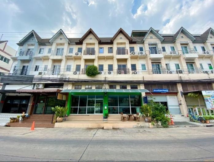 ให้เช่าอาคารพาณิชย์ 4 ชั้น 2 คูหา หมู่บ้านสถาพร อยุ่ติดโลตัสคลอง 4 ใกล้ดรีมเวิล์ด ห้างฟิวเจอร์ปาร์ครังสิต