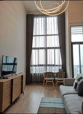 (เช่า) FOR RENT IDEO NEW RAMA 9 / 1 bedroom Duplex / 26+10 Sqm.**17,000** Brand New Condo. CLOSE APL RAMKHAMHAENG