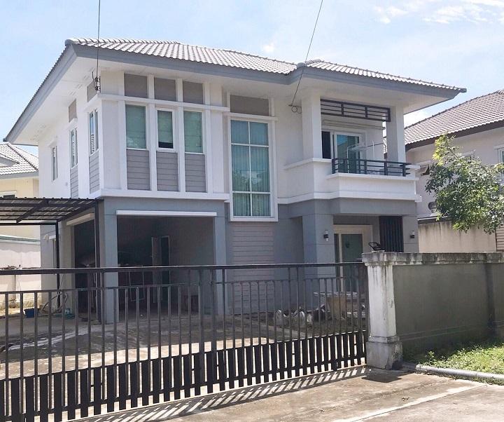 ขายบ้านเดี่ยวราคาถูก โครงการ เนเชอร่าวารี (ปิ่นเกล้า-พระราม 5) พร้อมอยู่