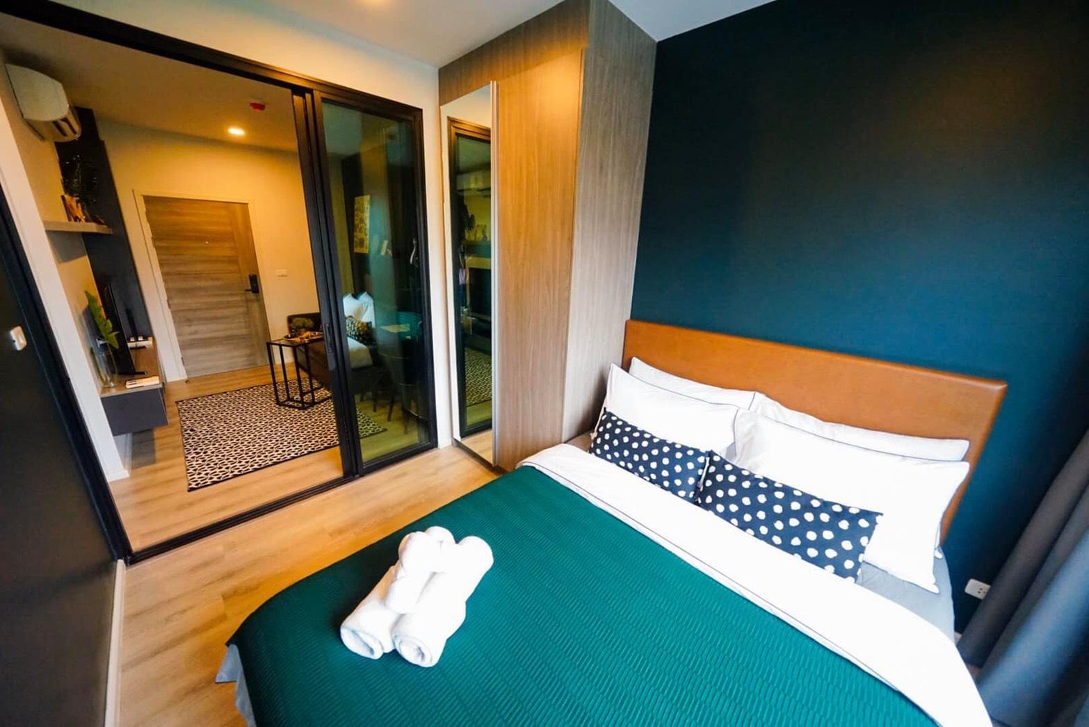 คอนโดให้เช่า น็อตติ้ง ฮิลล์ สุขุมวิท105  ซอย ลาซาล 9  บางนา บางนา 1 ห้องนอน พร้อมอยู่ ราคาถูก