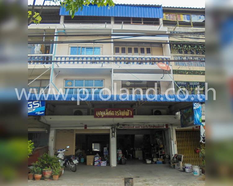 ภาพขายอาคารพาณิชย์ 2 คูหา ริมถ.สุขสวัสดิ์ ค้าขายได้ ใกล้บิ๊กซี