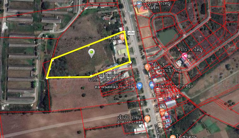 ภาพขายที่ดินติดถนนธนะรัชต์ กม.1 #เขาใหญ่ #ปากช่อง