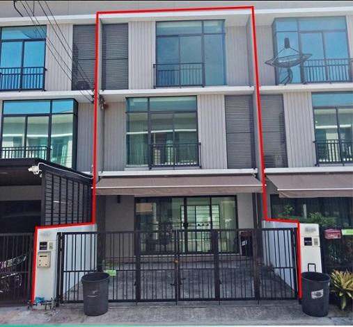 ภาพขาย ทาวน์โฮม 3 ชั้น 3 ห้องนอน 3 ห้องน้ำ ปากเกร็ด นนทบุรี
