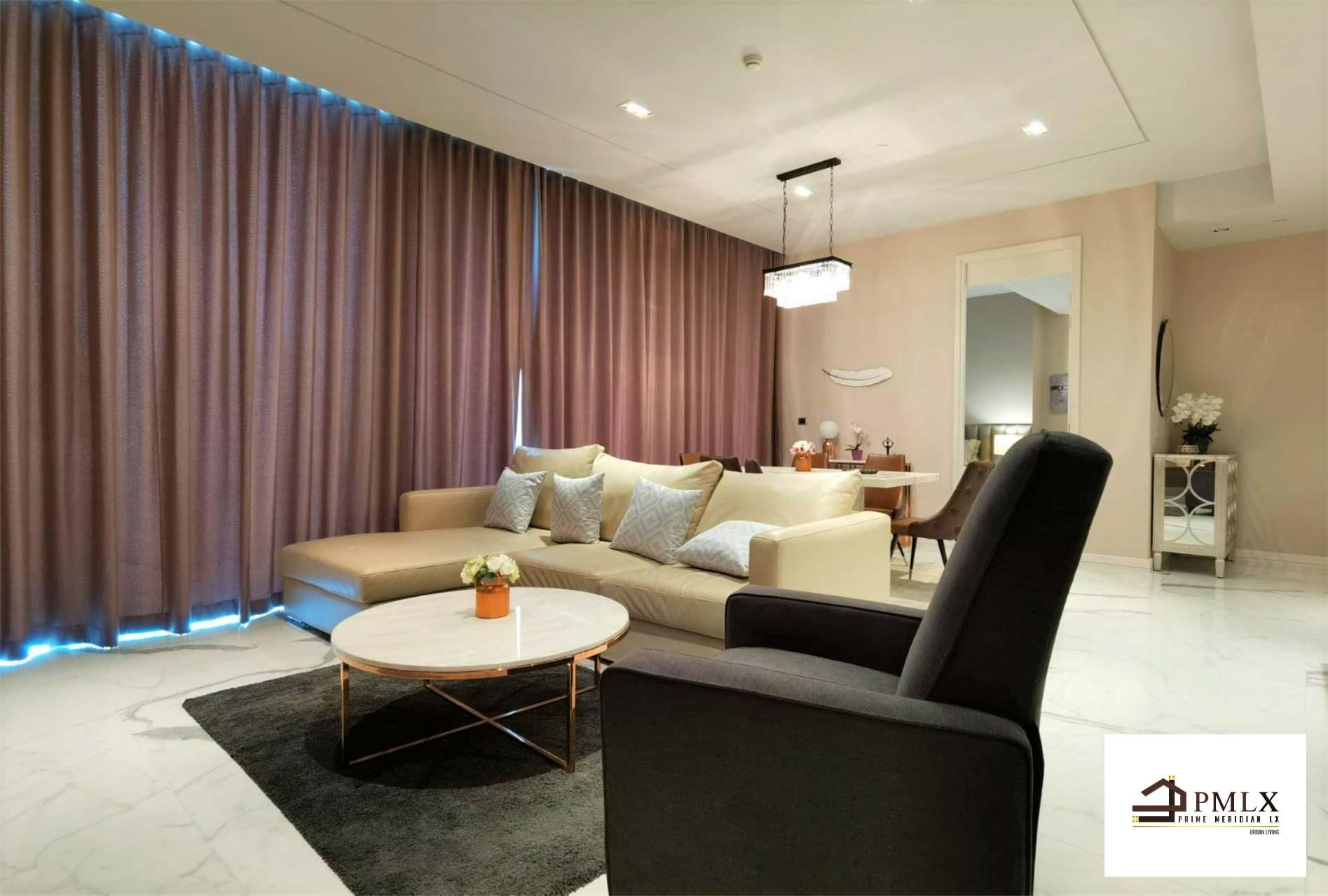 ภาพMarque Sukhumvit 39 - Beautifully Furnished 2 Bedroom Corner Unit