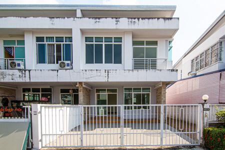 ภาพให้เช่า บ้านเดี่ยว ปัญฐิญา พระราม 5 โครงการ 3 2 ชั้น ขนาด 36 ตรว. พื้นที่ 128 ตรม. 3 นอน2 น้ำ  บ้านใหม่ราคาพิเศษ