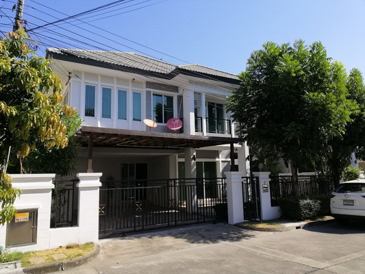 (เช่า) FOR RENT BANGKOK BOULEVARD RATCHAPRUK RAMA 5 / 3 beds 3 baths / 60 Sqw.**40,000** Modern Decorated. Fully Furnished. CLOSE DENLA SCHOOL