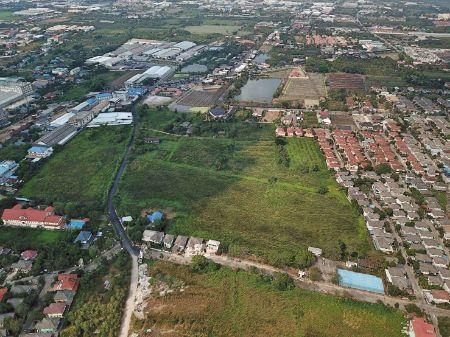 ภาพขาย  ที่ดิน ถูกที่สุดในย่านนี้ บางบอน5 แยก10 40ไร่  ห่างถนนบางบอน5 แค่100เมตร