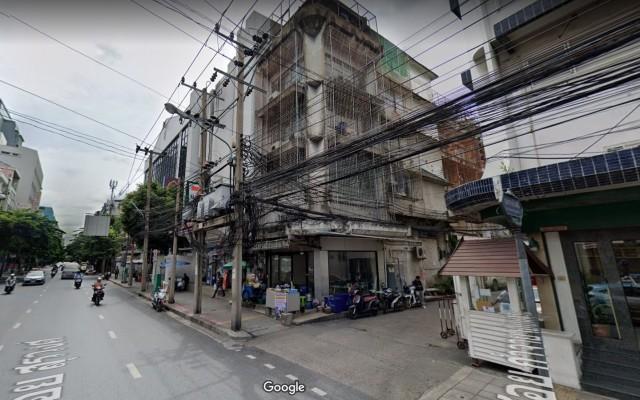 ให้เช่าตึกแถว ย่านสุรวงศ์ ทำเลดี ริมถนน ปากซอย รหั