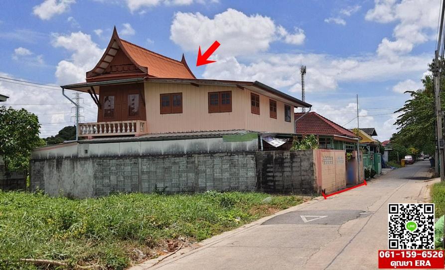 ภาพขายบ้านเดี่ยวสวัสดิการ1 ซ.6 ใกล้ ม.เอเชียอาคเนย์ เป็นบ้านครึ่งตึกครึ่งไม้ พร้อมอยู่ พื้นที่51ตรว. ขาย3.5ล้าน